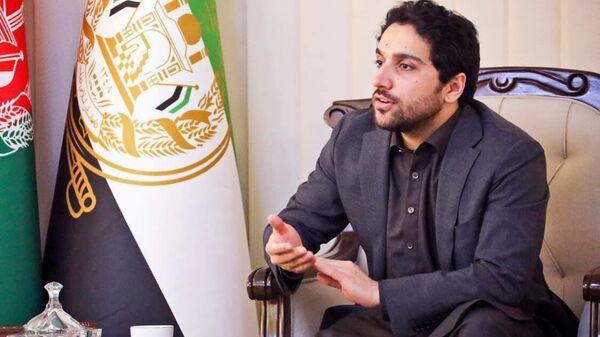 Ахмад Масуд, сын покойного афганского политика и военачальника Ахмад Шаха Масуда - Sputnik Тоҷикистон
