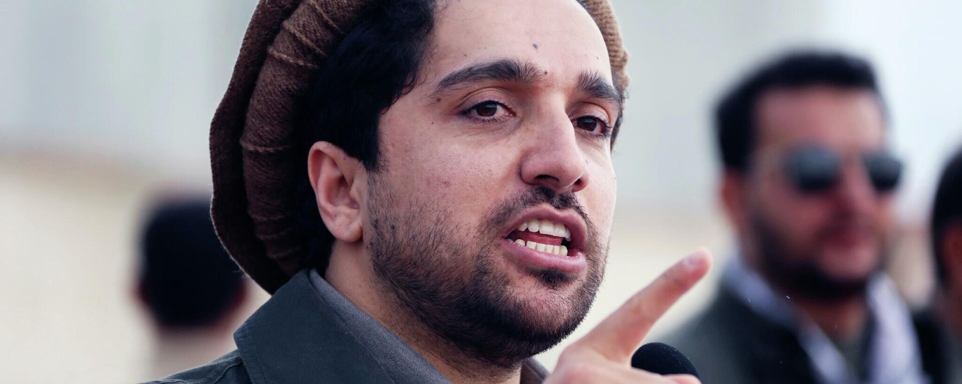 Ахмад Масуд, сын покойного афганского политика и военачальника Ахмад Шаха Масуда - Sputnik Таджикистан, 1920, 15.09.2021
