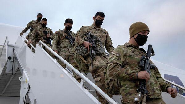 Солдаты армии США возвращаются домой из Афганистана - Sputnik Таджикистан
