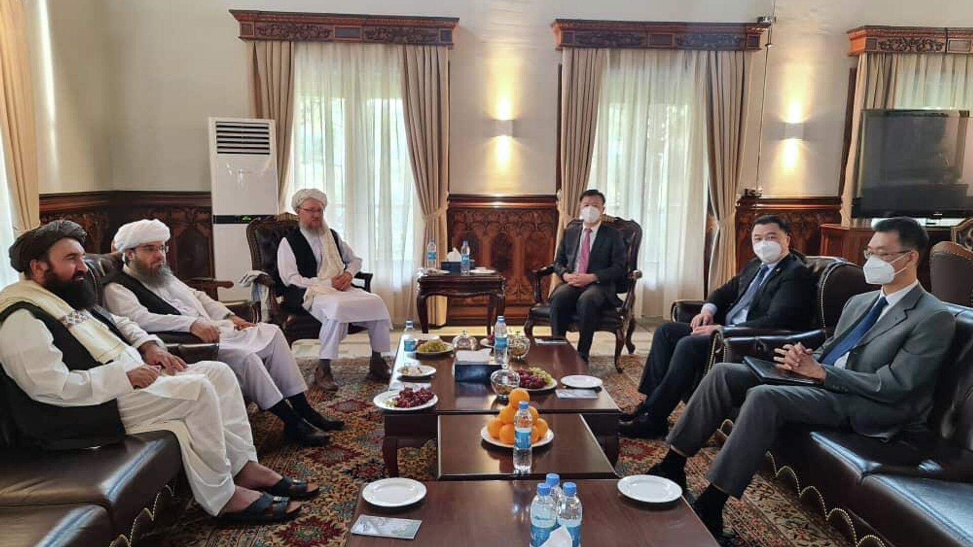 Первая официальная встреча талибов и китайских представителей в Кабуле - Sputnik Тоҷикистон, 1920, 07.09.2021