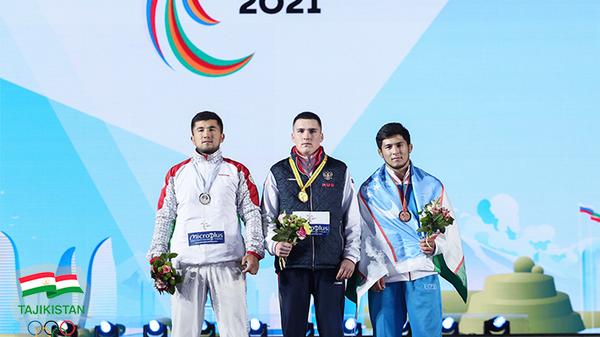 Таджикские спортсмены на Играх СНГ в Казани - Sputnik Таджикистан