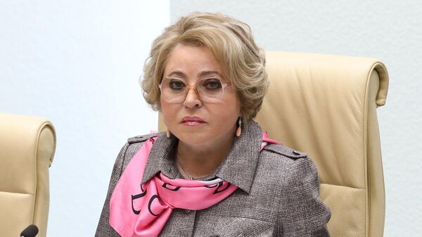 Председатель Совета Федерации РФ Валентина Матвиенко - Sputnik Тоҷикистон