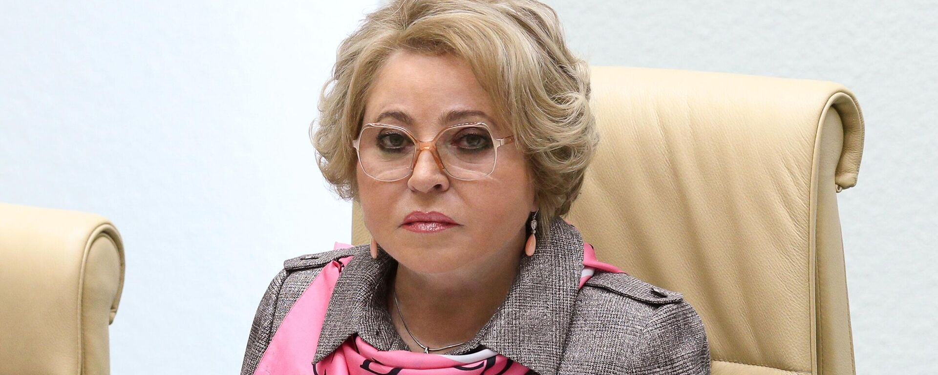Председатель Совета Федерации РФ Валентина Матвиенко - Sputnik Таджикистан, 1920, 07.09.2021