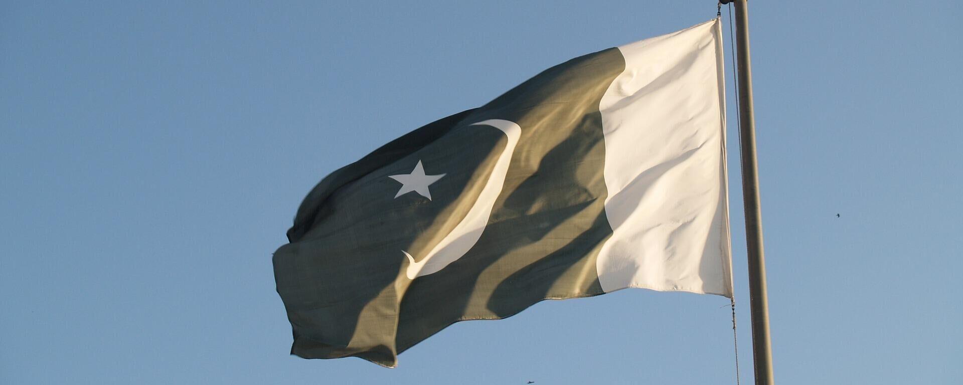 Флаг Пакистана - Sputnik Тоҷикистон, 1920, 07.09.2021