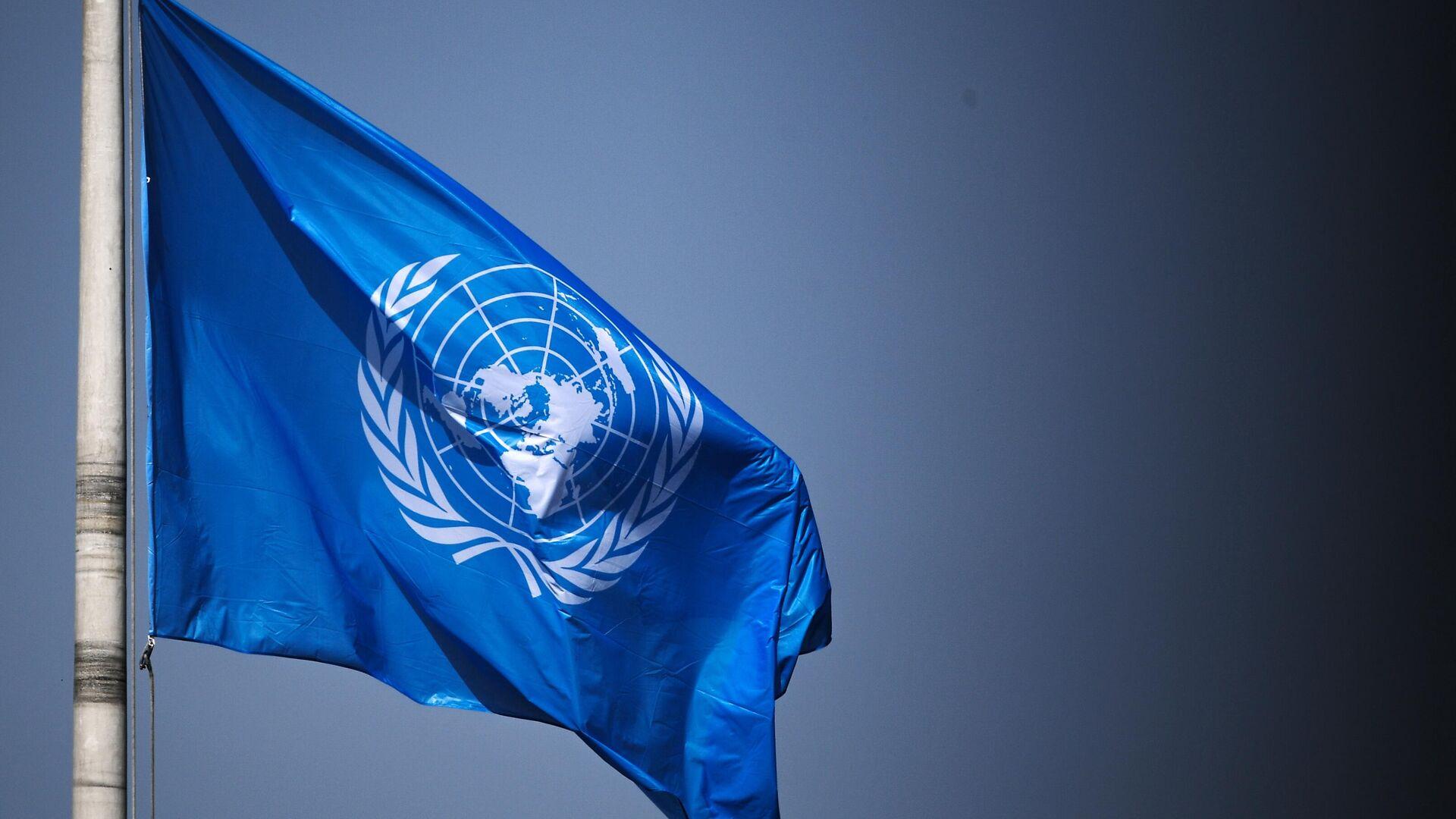 Флаг ООН - Sputnik Таджикистан, 1920, 28.09.2021
