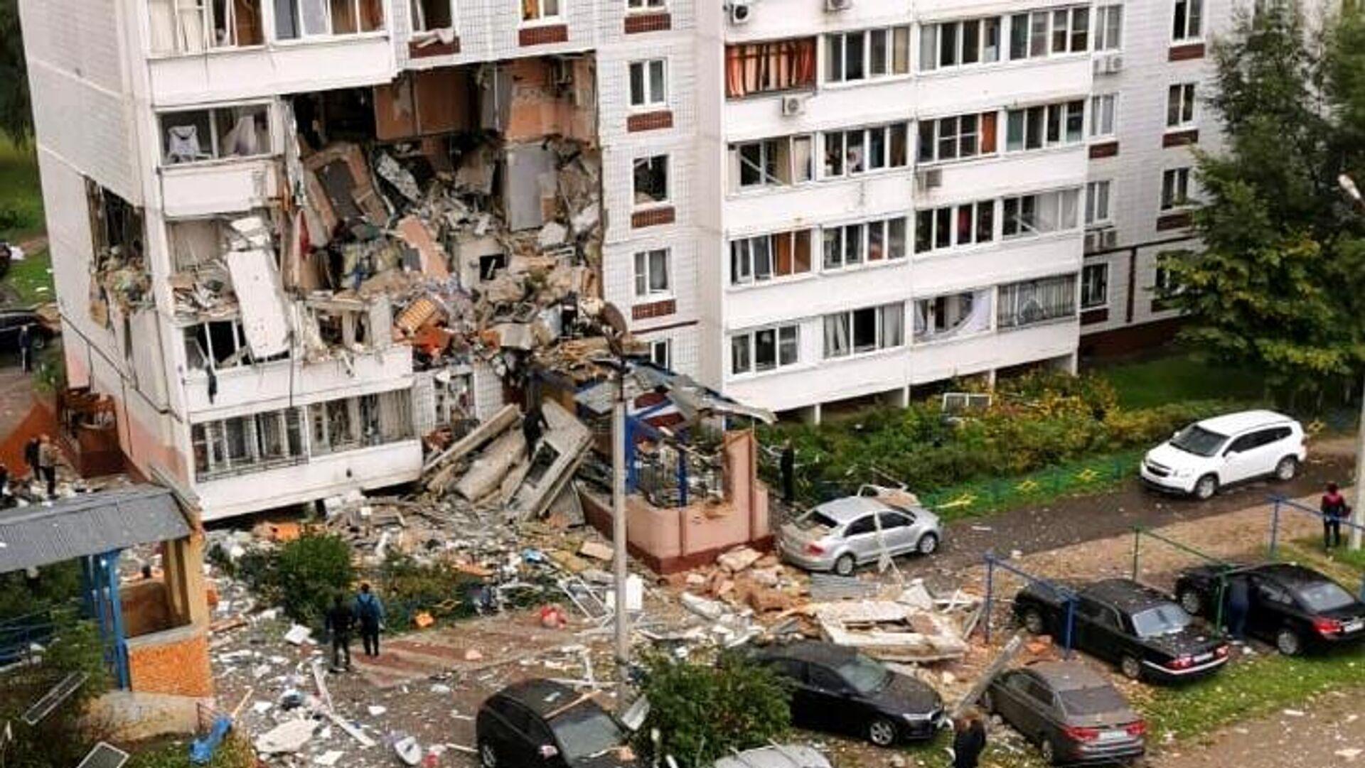 Взрыв газа в жилом доме в Ногинске - Sputnik Таджикистан, 1920, 08.09.2021