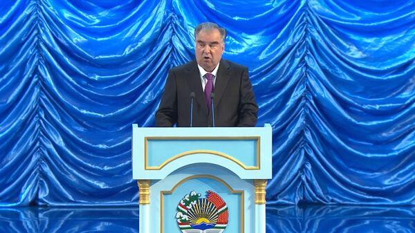 Выступление Президента Республики Таджикистан, лидера нации на встрече страны по случаю 30 года - Sputnik Тоҷикистон