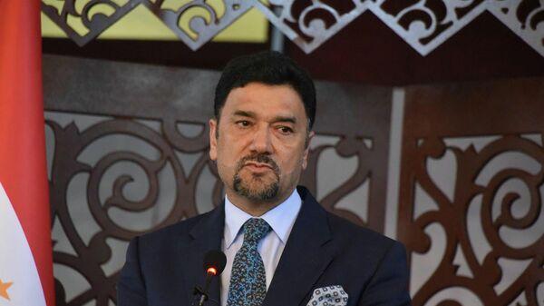 Посол Афганистана в Таджикистане Мухаммад Захир Агбар - Sputnik Таджикистан