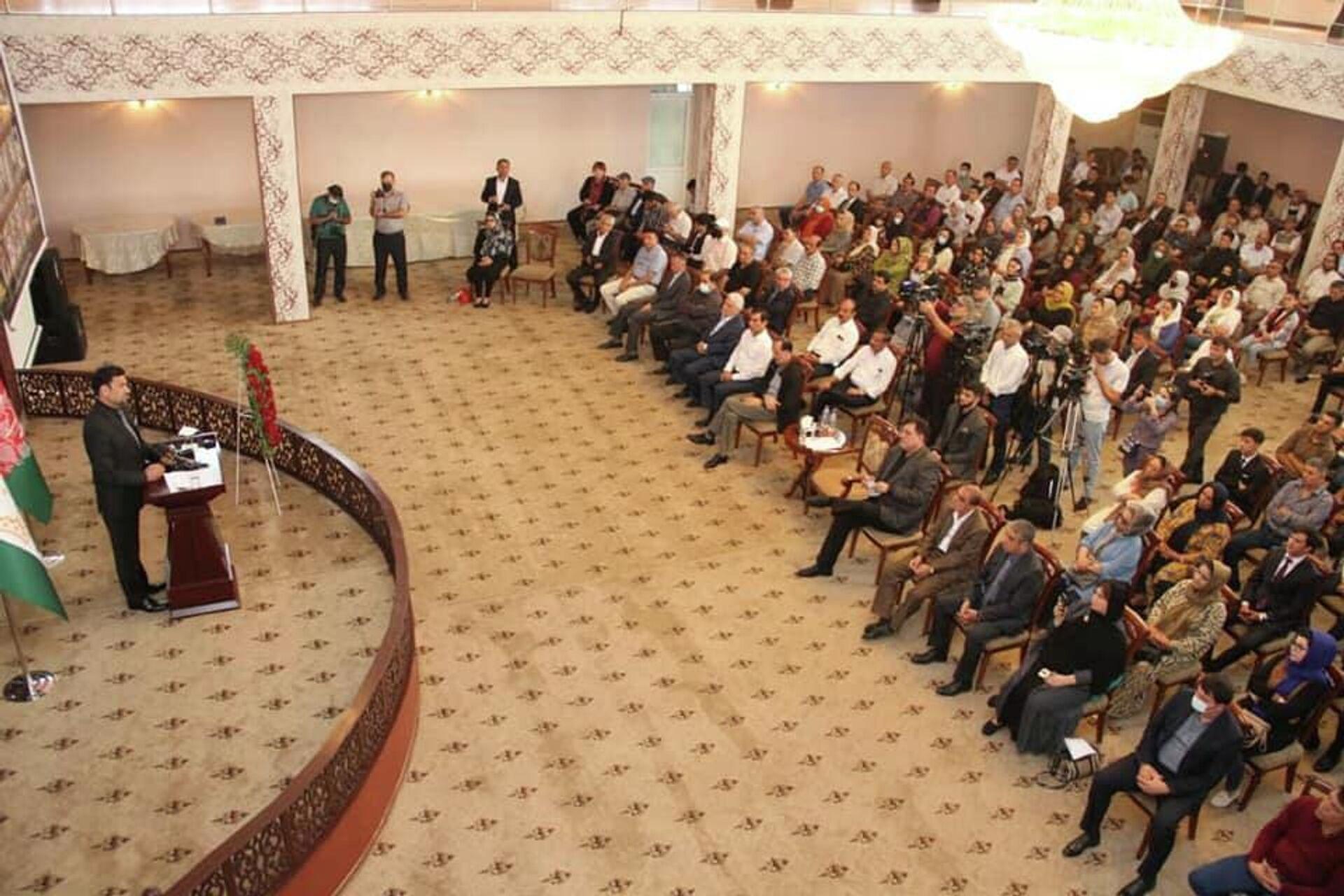 День памяти национального героя Афганистана Ахмад Шаха Масуда состоялся в Душанбе - Sputnik Таджикистан, 1920, 10.09.2021