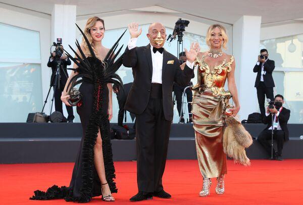 Гости на церемонии открытия 78-го Венецианского кинофестиваля. - Sputnik Таджикистан