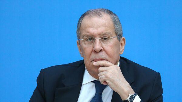 Поездка министра иностранных дел РФ С. Лаврова в  Санкт-Петербург - Sputnik Таджикистан