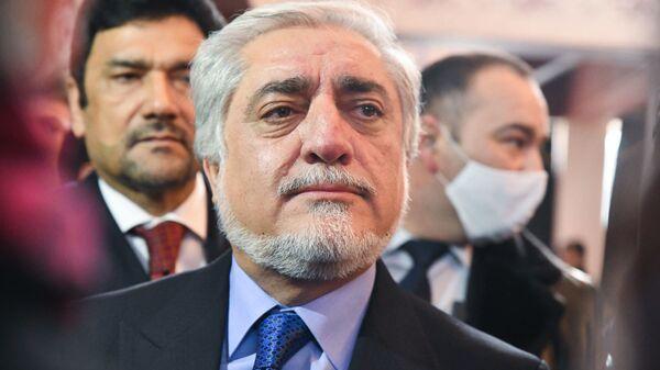 Председатель Высшего совета национального примирения Афганистана Абдулла Абдулла - Sputnik Тоҷикистон