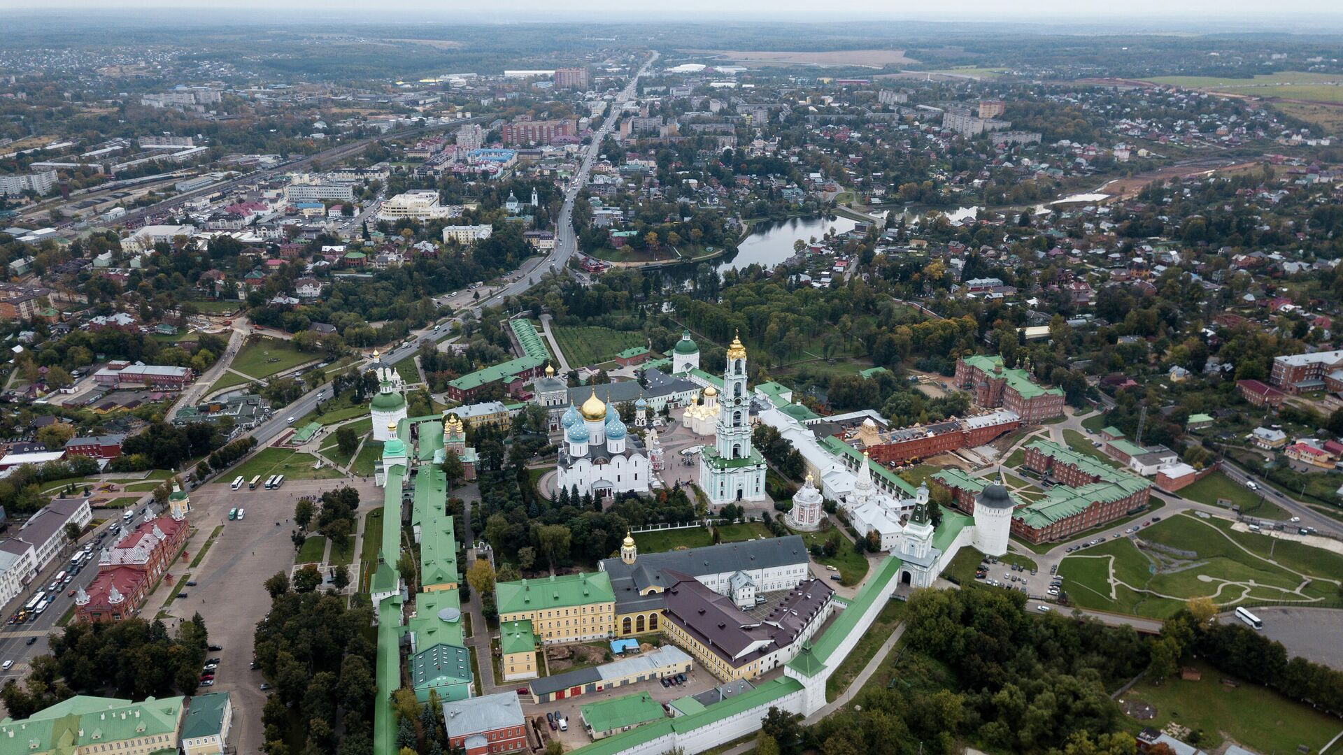 Город Сергиев Посад Московской области - Sputnik Таджикистан, 1920, 14.09.2021