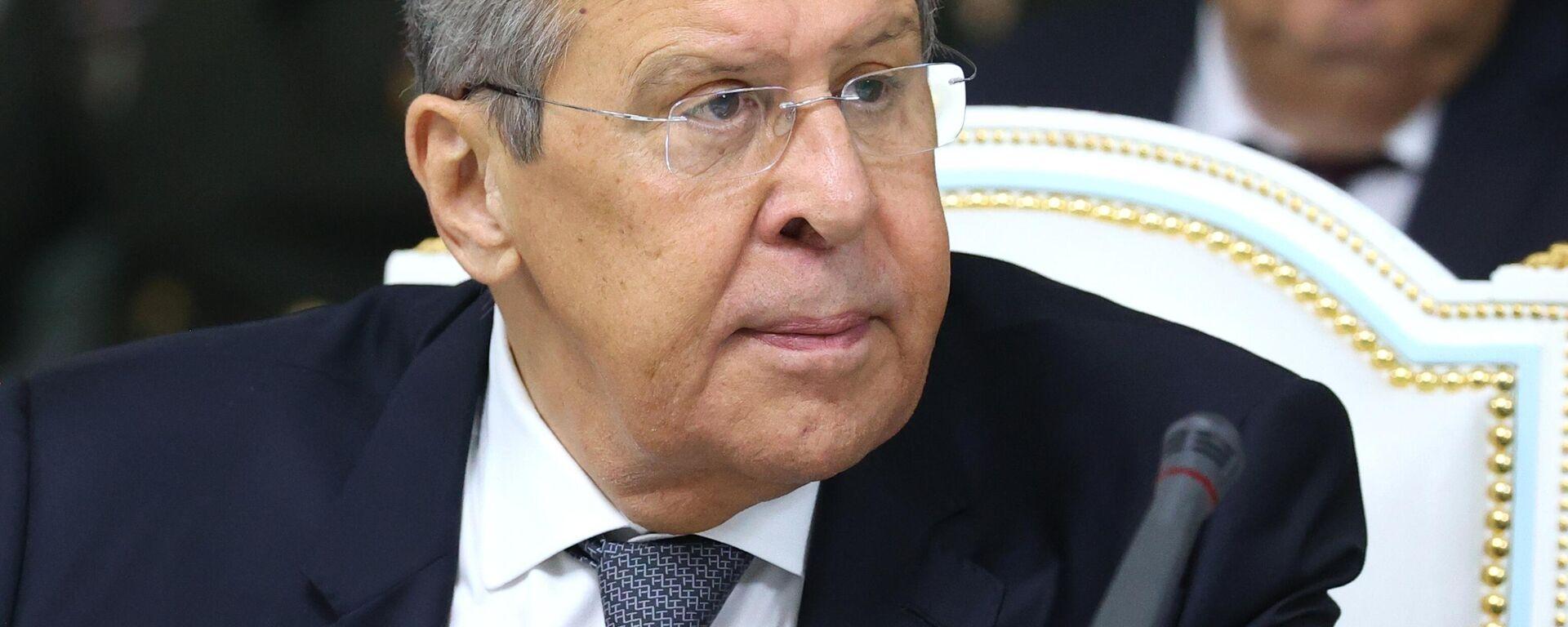 Министр иностранных дел РФ Сергей Лавров  - Sputnik Таджикистан, 1920, 15.09.2021