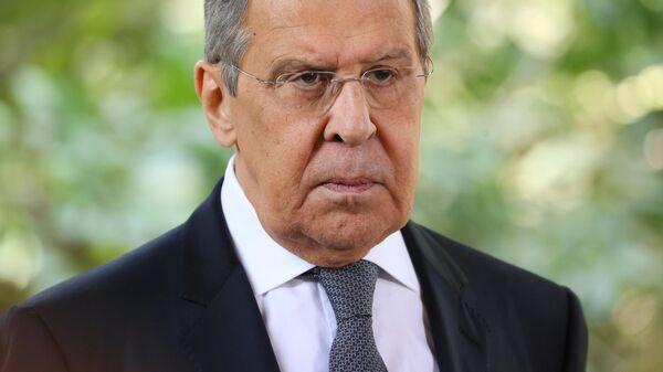 Министр иностранных дел РФ Сергей Лавров - Sputnik Тоҷикистон