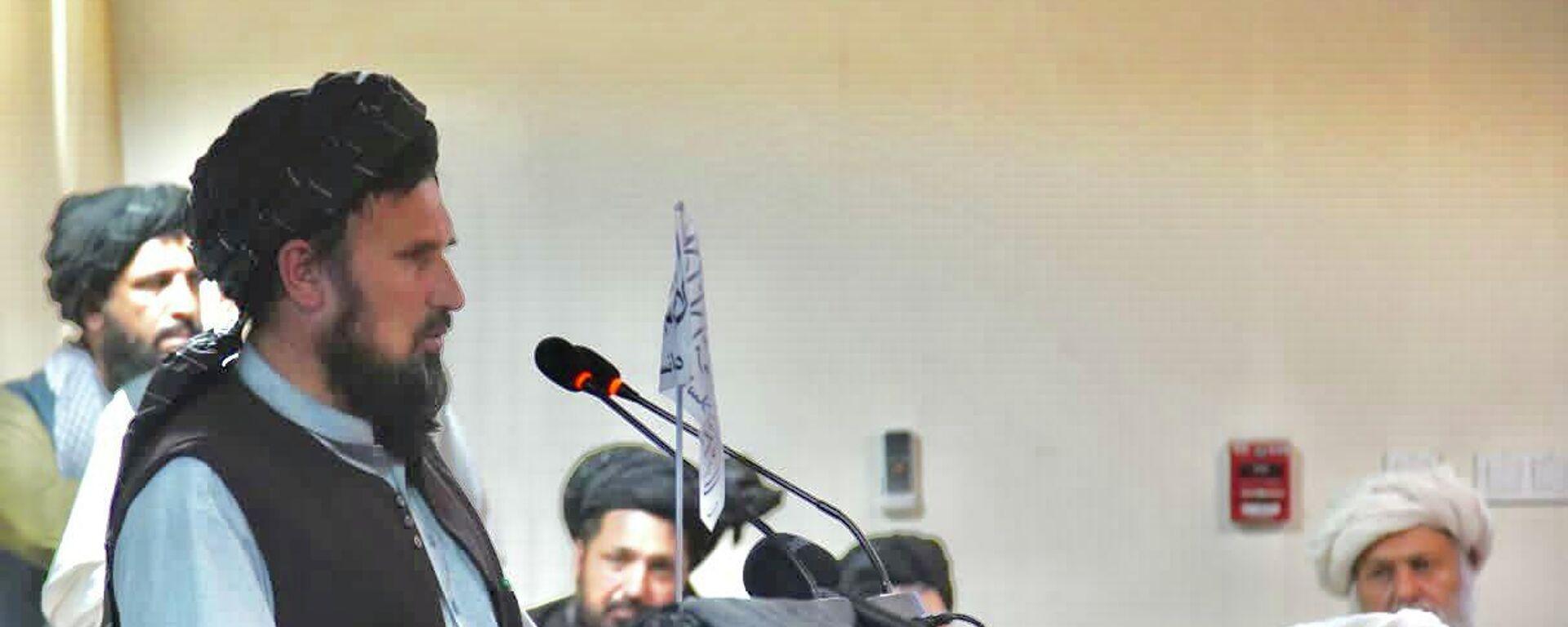 Глава Генштаба Исламского Эмирата Афганистан Кари Фасихуддина - Sputnik Тоҷикистон, 1920, 15.09.2021
