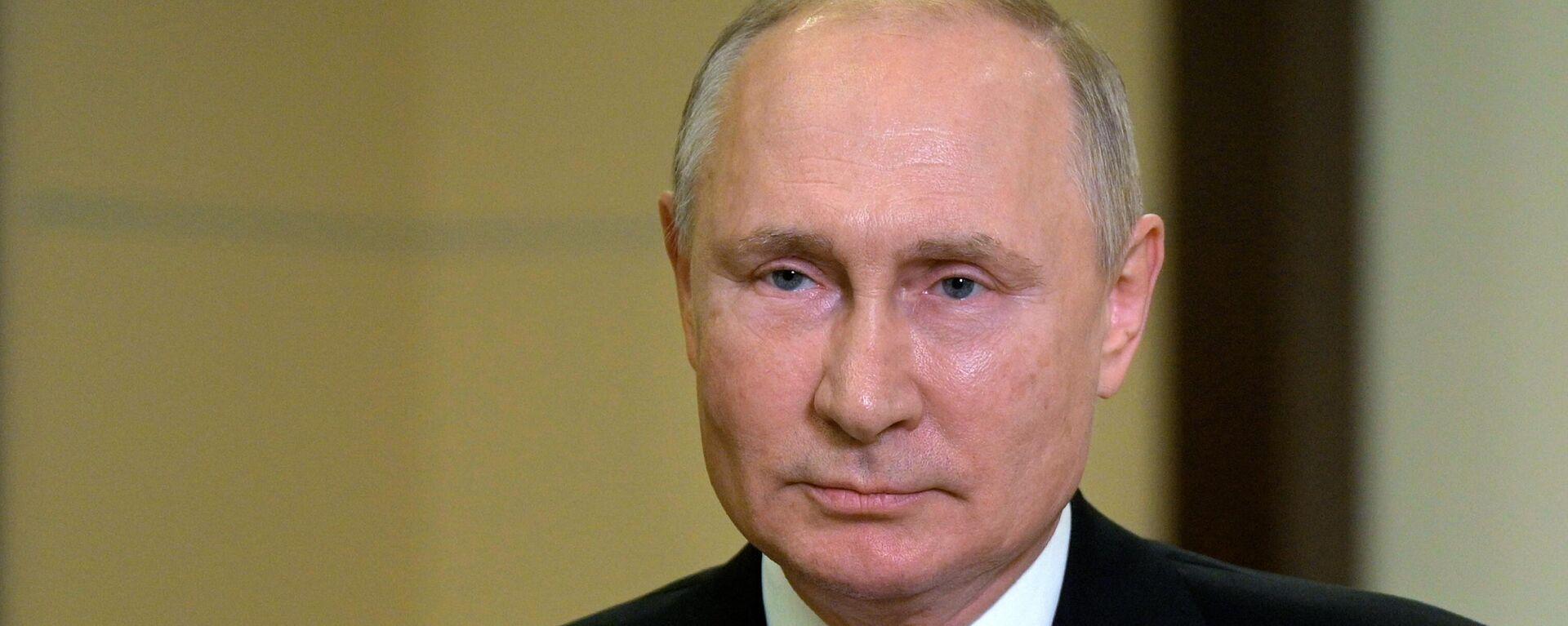 Президент РФ Владимир Путин  - Sputnik Таджикистан, 1920, 11.10.2021