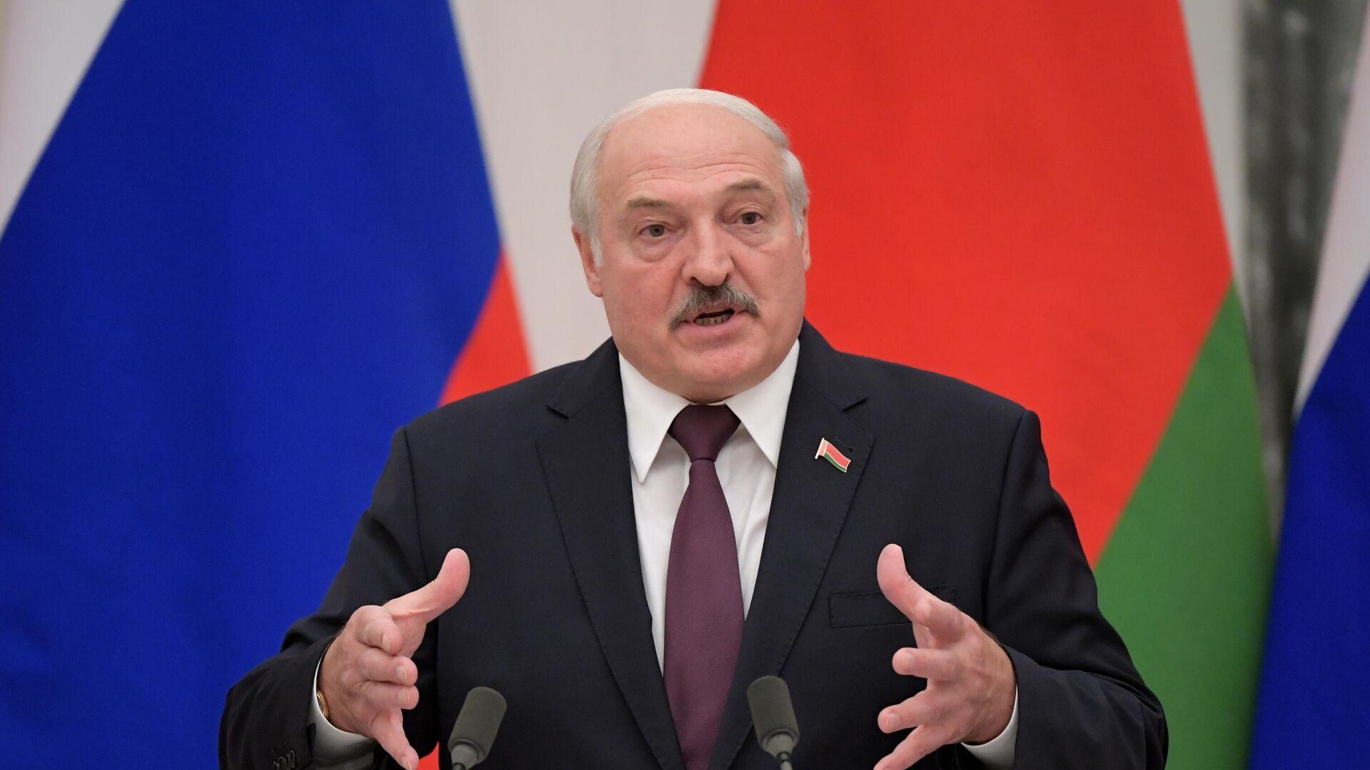 Президент Беларуси Александр Лукашенко - Sputnik Таджикистан, 1920, 16.09.2021