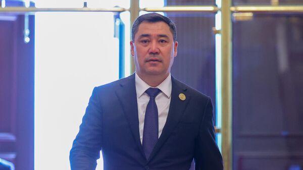 Президент Киргизии Садыр Жапаров  - Sputnik Таджикистан