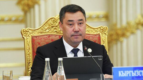 Президент Кыргызстана Садыр Жапаров - Sputnik Таджикистан