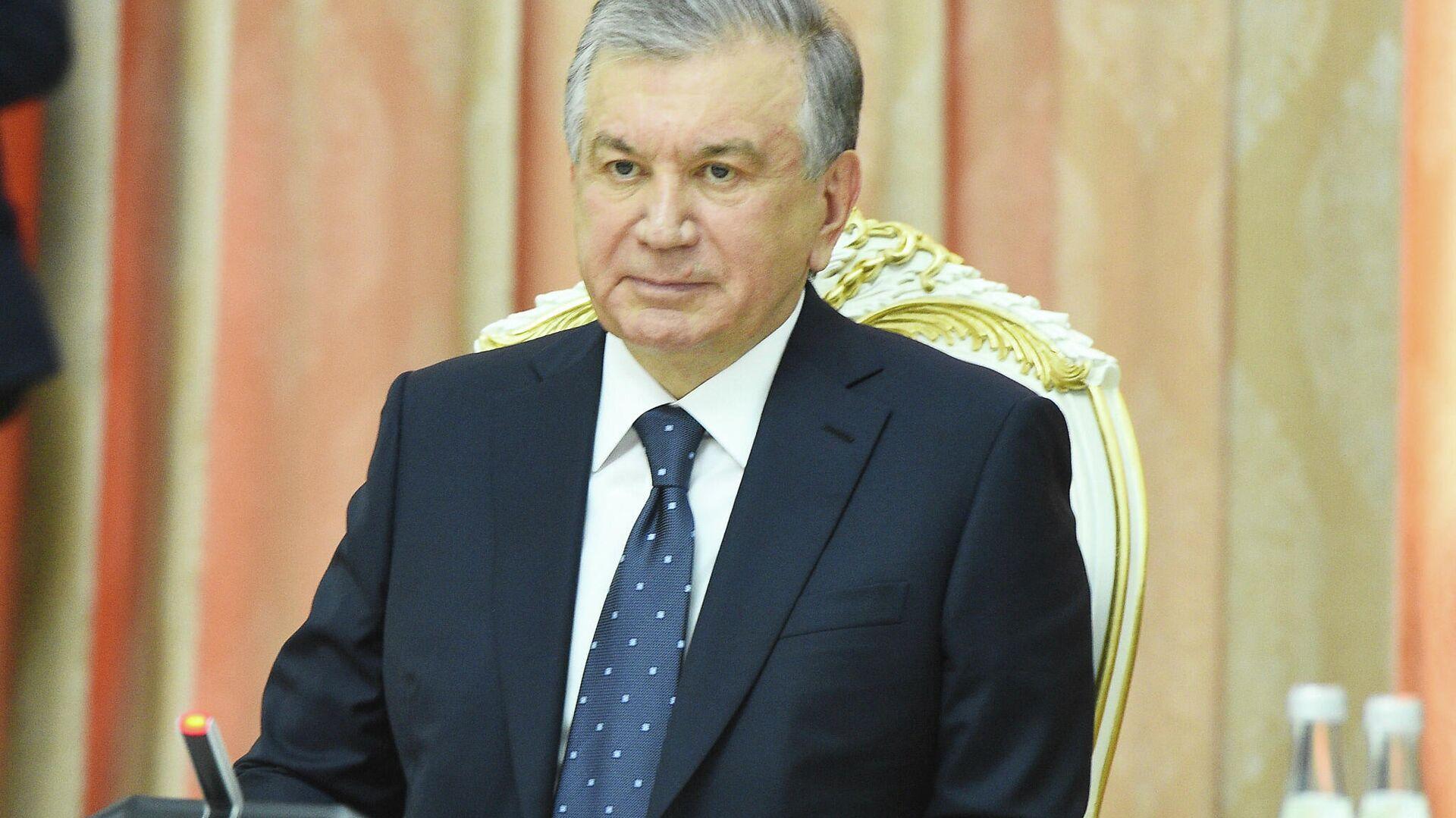 Президент Узбекистана Шавкат Мирзиеев  - Sputnik Таджикистан, 1920, 17.09.2021