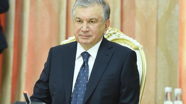 Президент Узбекистана Шавкат Мирзиеев  - Sputnik Таджикистан
