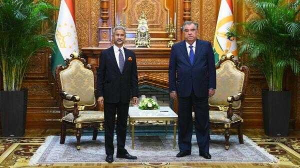 Встреча с Министром иностранных дел Индии Субрахманиамом Джайшанкаром - Sputnik Тоҷикистон