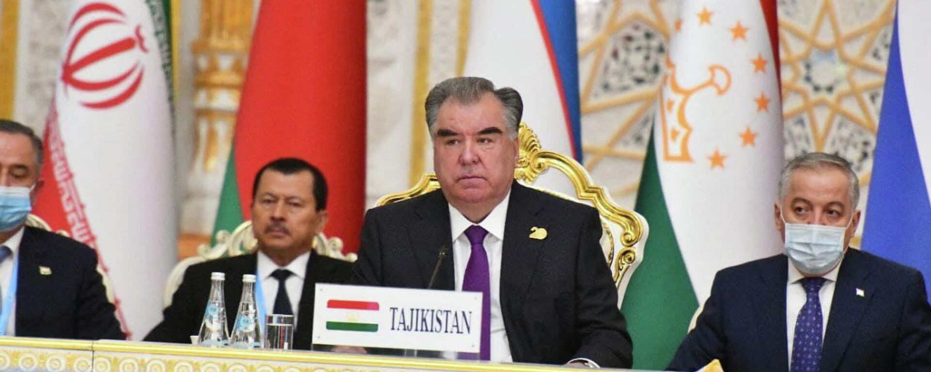 Президент Республики Таджикистан Эмомали Рахмон - Sputnik Тоҷикистон, 1920, 17.09.2021