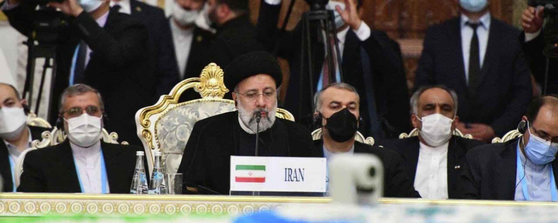 Президент Ирана Эбрагим Раиси - Sputnik Таджикистан, 1920, 17.09.2021