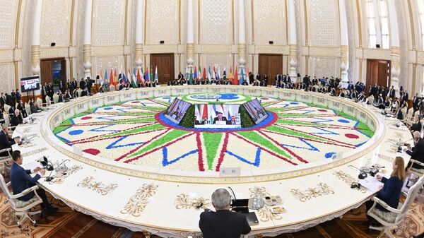 Заседание Совета глав государств Шанхайской организации сотрудничества - Sputnik Таджикистан