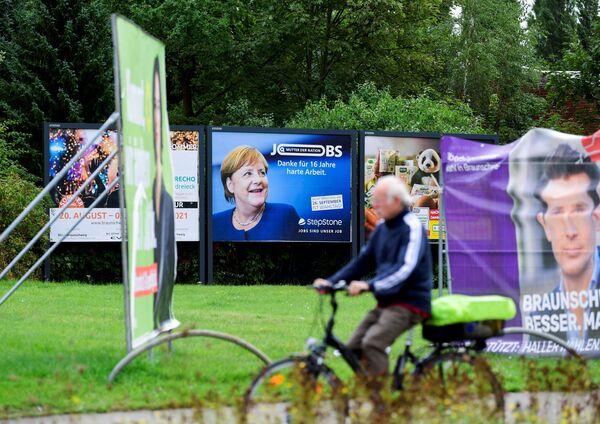 Ангела Меркель уходит с поста канцлера после четырех победных выборов. - Sputnik Таджикистан