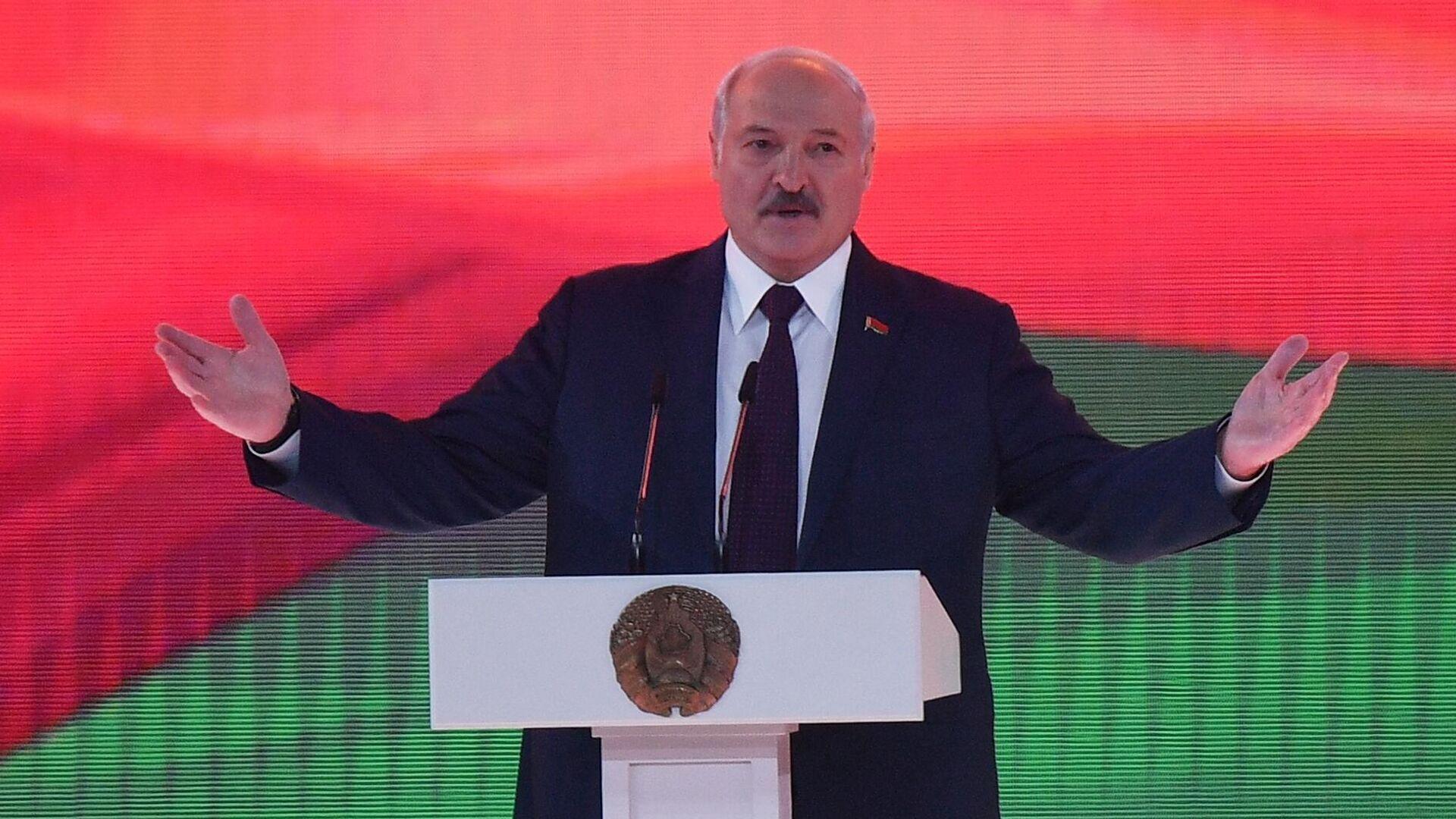 Выступление президента Белоруссии Александра Лукашенко - Sputnik Тоҷикистон, 1920, 08.10.2021