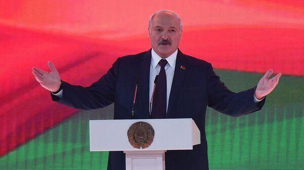 Выступление президента Белоруссии Александра Лукашенко - Sputnik Таджикистан