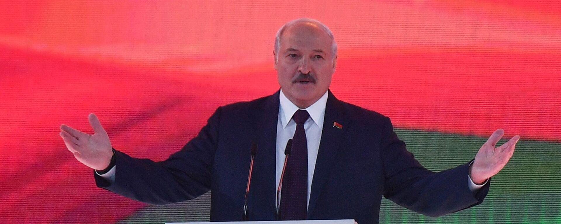 Выступление президента Белоруссии Александра Лукашенко - Sputnik Тоҷикистон, 1920, 18.09.2021