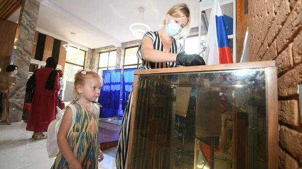 Выборы в Госдуму РФ в Таджикистане - Sputnik Таджикистан