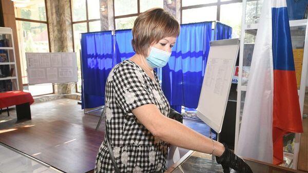 Выборы в Госдуму РФ в Таджикистане - Sputnik Тоҷикистон