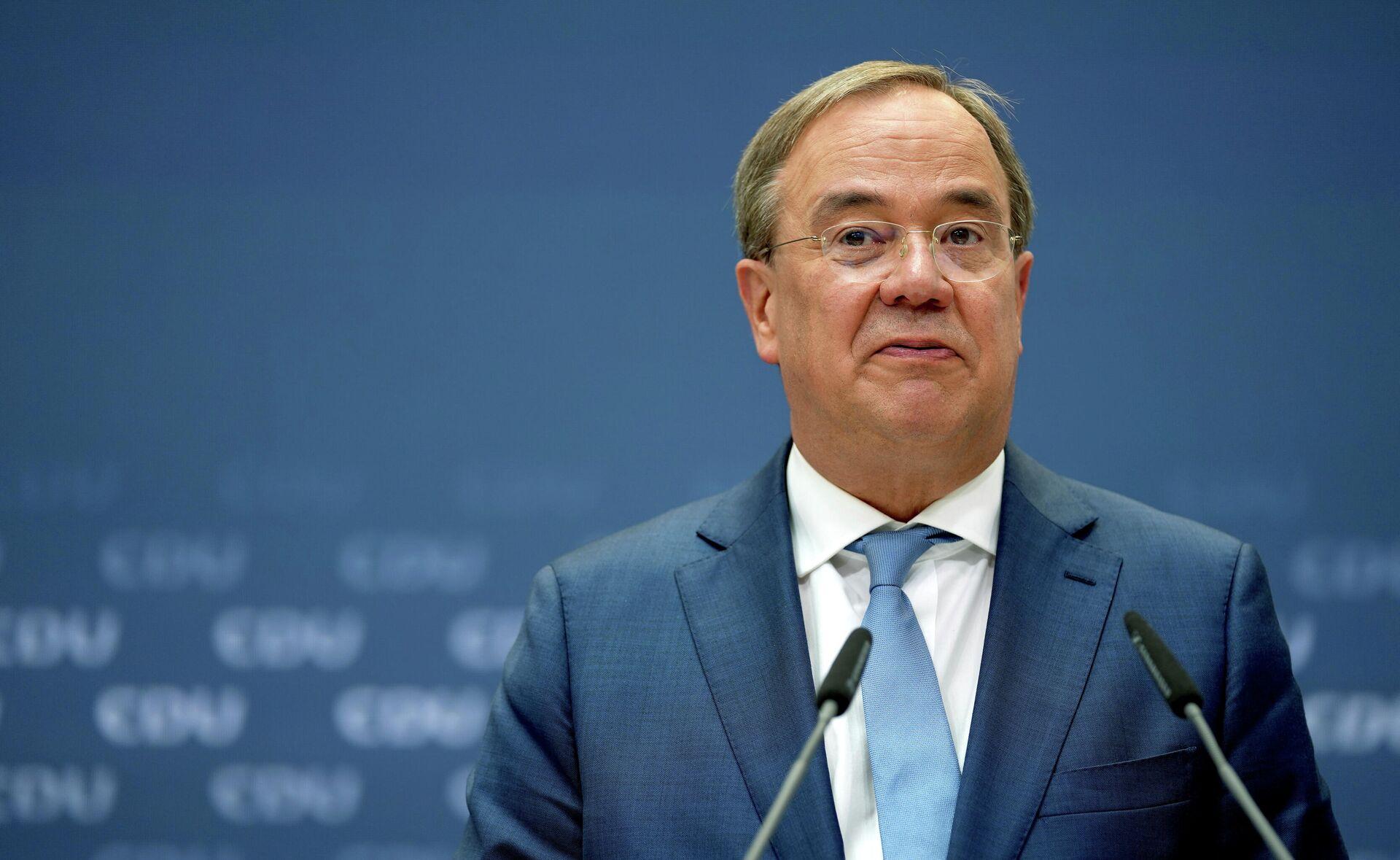 Армин Лашет, председатель Германского христианско-демократического союза - Sputnik Таджикистан, 1920, 21.09.2021