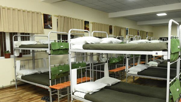 В Раште открыт новый штаб воинской части и общежитие для военнослужащих - Sputnik Таджикистан