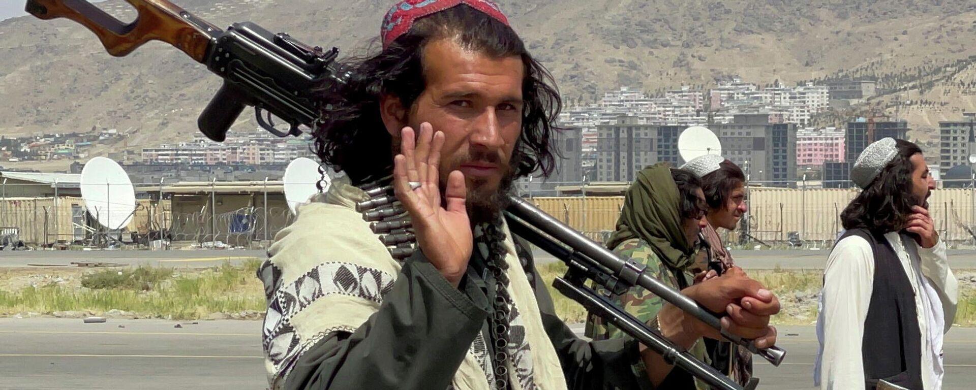 Боевики террористического движения Талибан - Sputnik Таджикистан, 1920, 27.09.2021