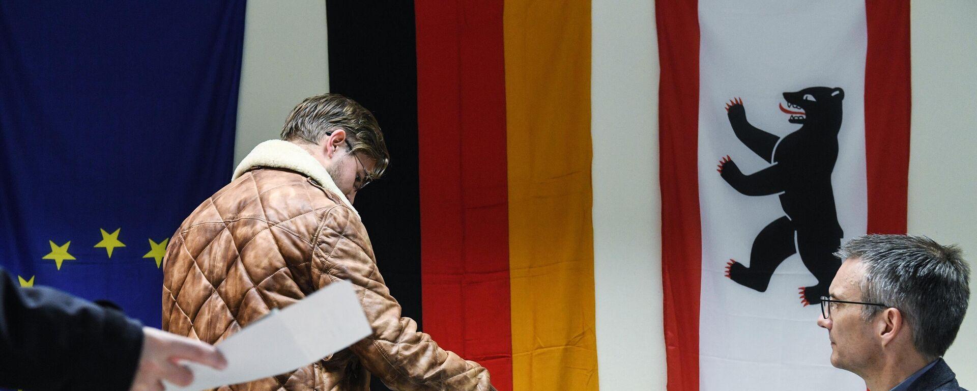Парламентские выборы в Германии - Sputnik Таджикистан, 1920, 26.09.2021