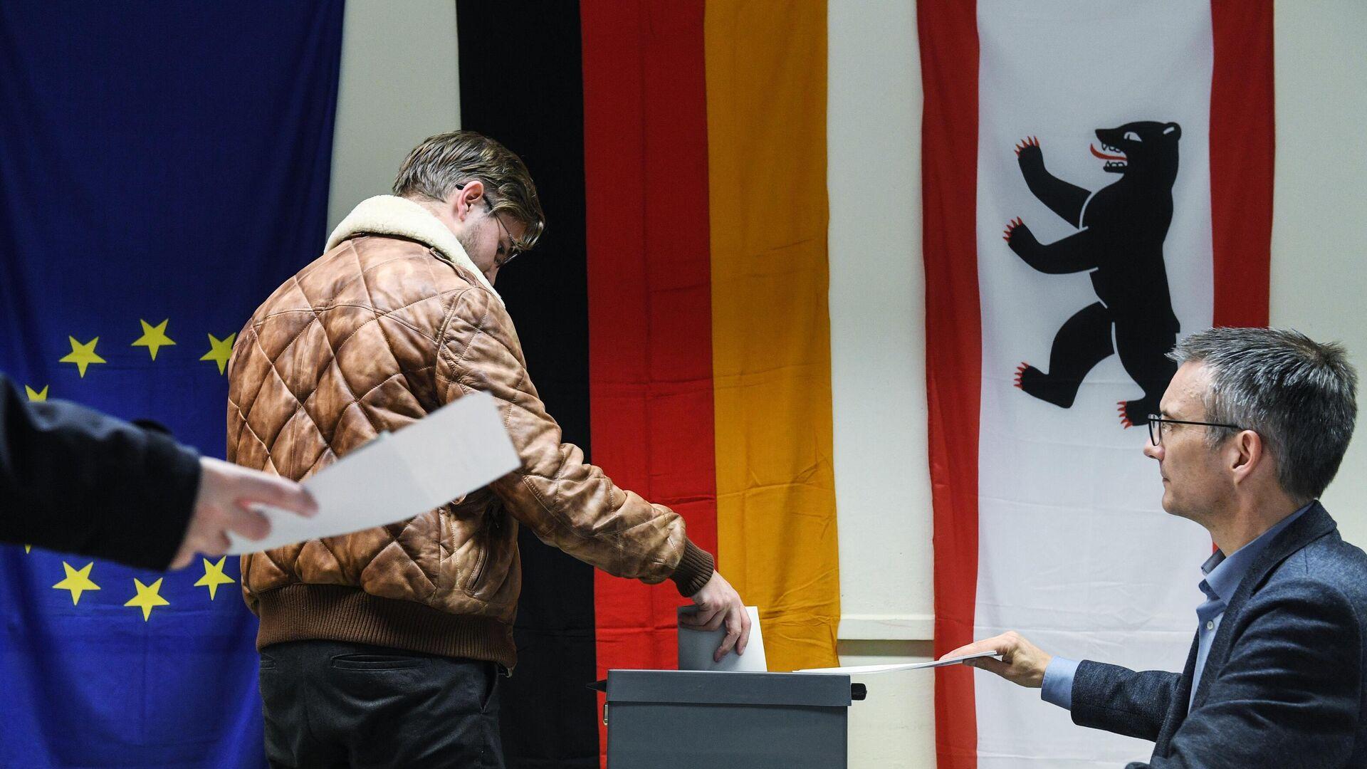 Парламентские выборы в Германии - Sputnik Тоҷикистон, 1920, 26.09.2021