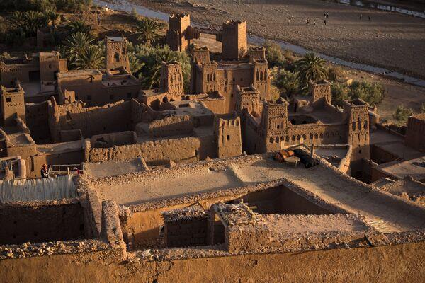 """Крепость из """"Игры престолов"""" на самом деле существует. Она находится в Марокко и называется Ксар Айт-Бен-Хадду. - Sputnik Таджикистан"""