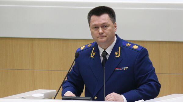 Генеральный прокурор РФ Игорь Краснов - Sputnik Тоҷикистон