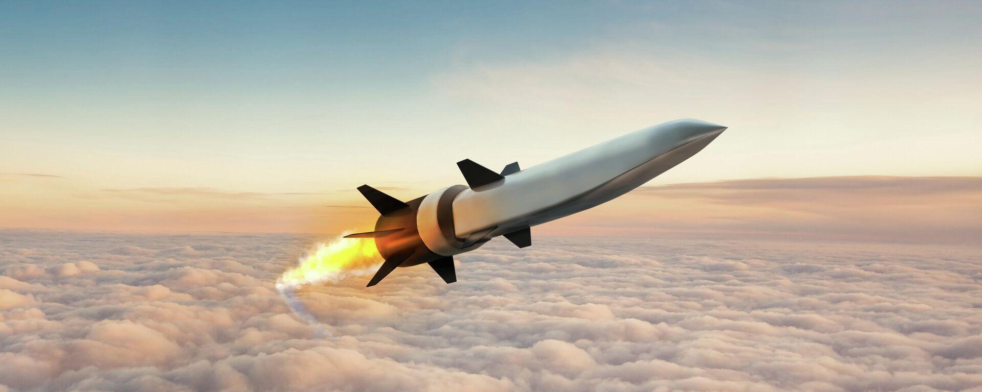 Ракета Hypersonic Air-Ding Weapons Concept (HAWC) в замысле художника - Sputnik Таджикистан, 1920, 28.09.2021