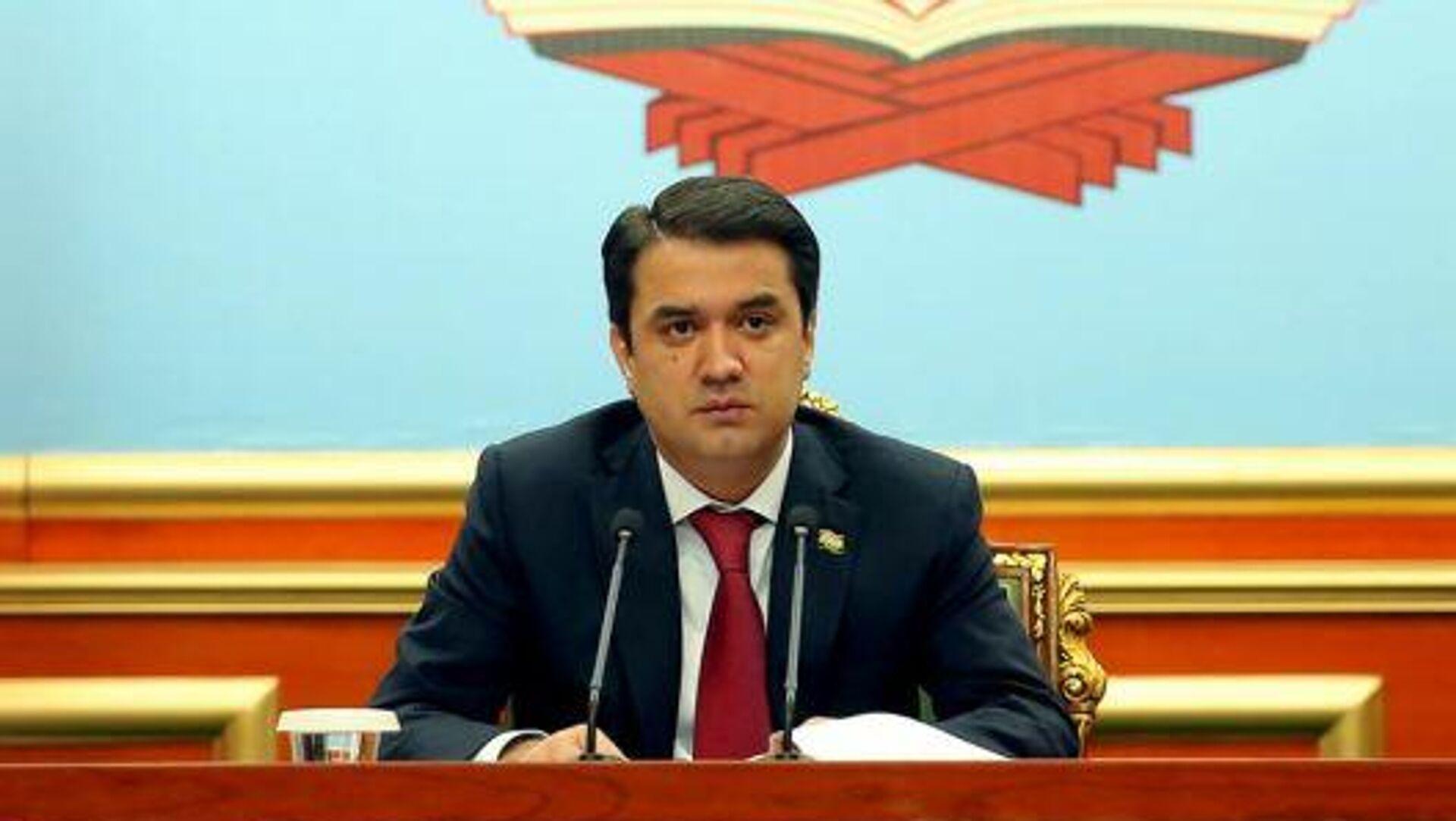Председатель Собрания народных депутатов города Душанбе Рустам Эмомали - Sputnik Таджикистан, 1920, 29.09.2021