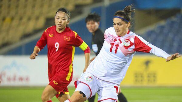 Женские сборные Вьетнама и Таджикистана - Sputnik Таджикистан