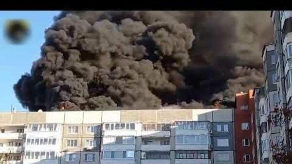 Крупный пожар в Тюмени - Sputnik Таджикистан