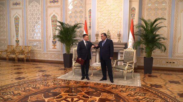 Генпрокурор России Игорь Краснов встретился с Президентом Таджикистана Эмомали Рахмоном - Sputnik Таджикистан