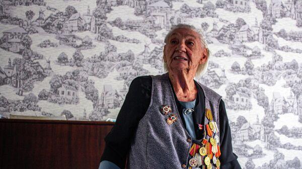 Ветеран Великой Отечественной войны Ковтун Леокадия Дмитриевна - Sputnik Таджикистан