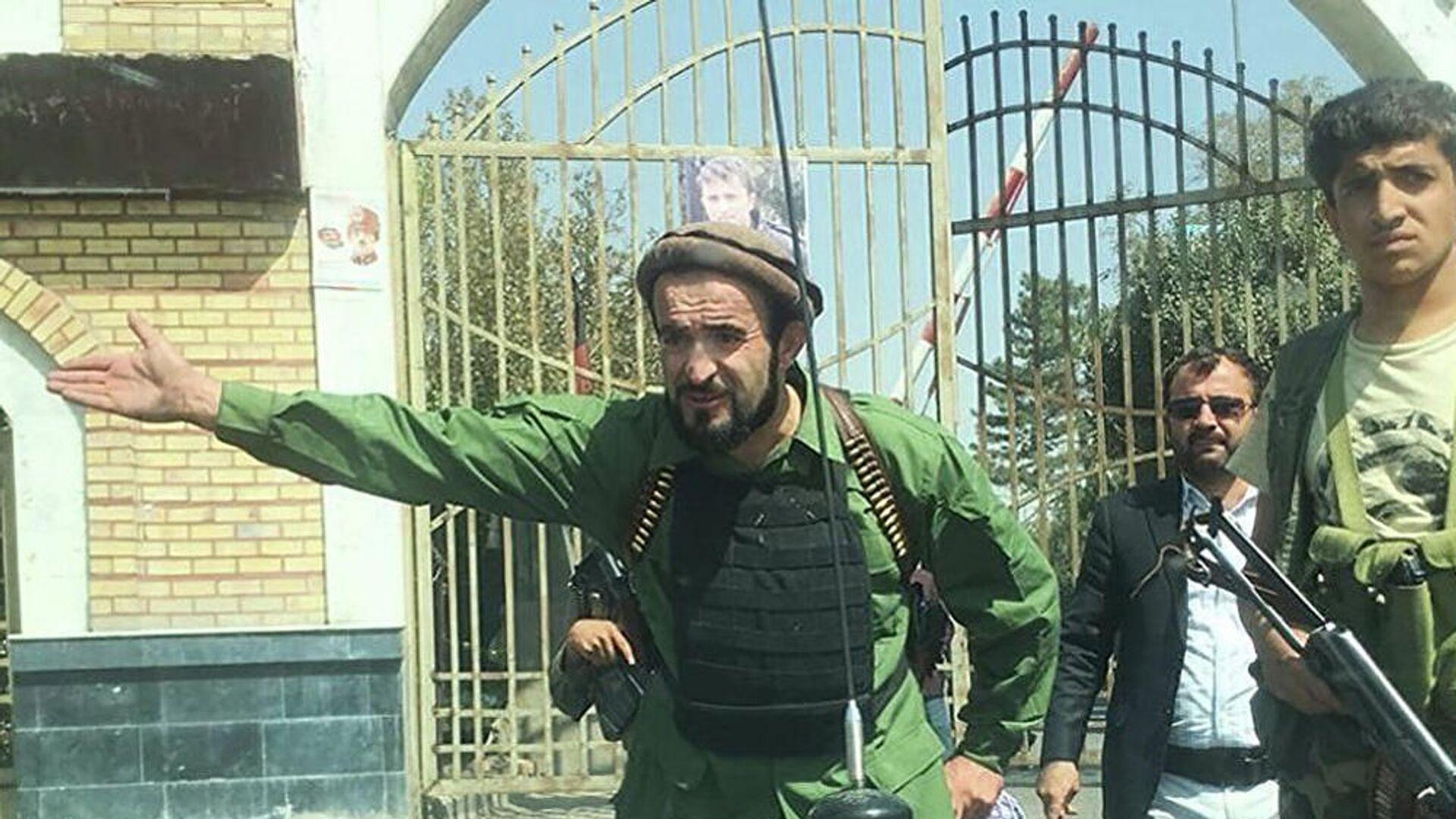 Абдул Хамид Хурасани, глава сулжбы безопасности Талибов в Панджшере - Sputnik Тоҷикистон, 1920, 01.10.2021